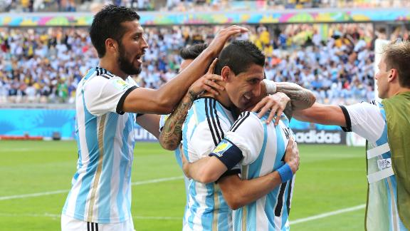 Hungry Argentina look for more