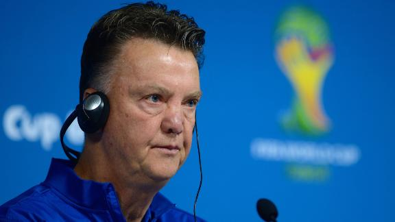 Van Gaal: FIFA plays tricks with advertising games