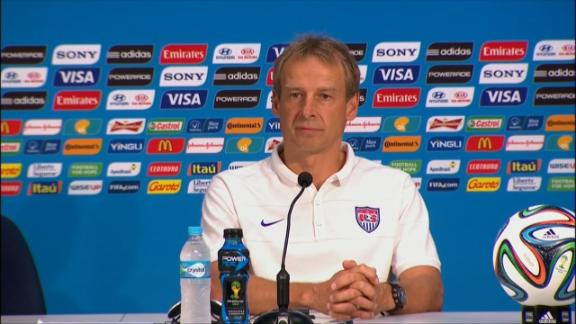 Klinsmann: It's all about Germany now