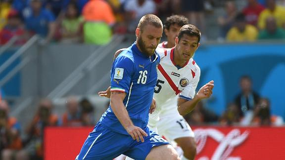 De Rossi injury concern in Italy