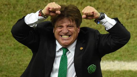 The many faces of Miguel Herrera