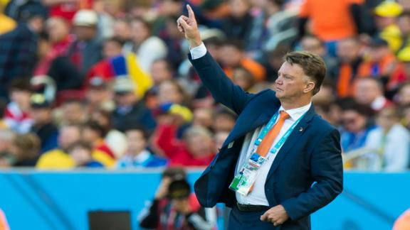 Van Gaal not happy with World Cup schedule
