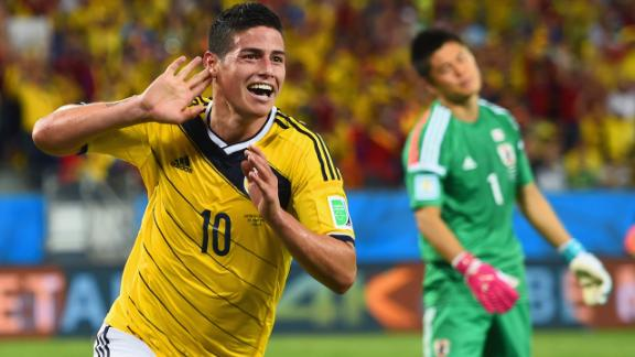 Highlights: Japan 1-4 Colombia