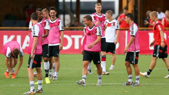 Germany with full squad ready to face U.S.