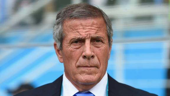 Tabarez: I didn't see anything