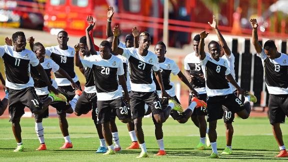 Ghana's 'delicate' World Cup bonus situation