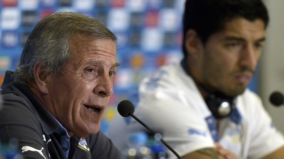 Tabarez: Suarez is a scapegoat
