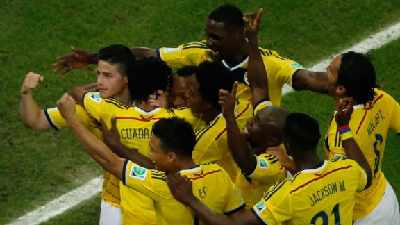 FULL-TIME: Colombia 2-0 Uruguay
