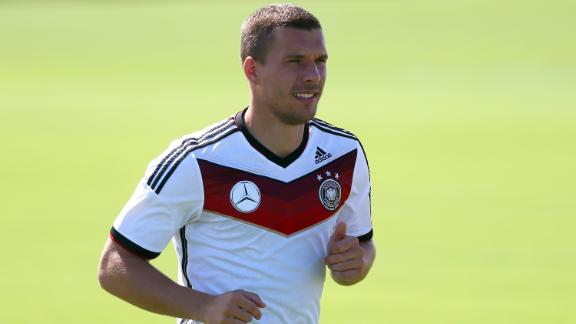 Podolski out for Algeria match