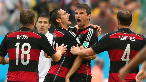 Relive Germany's top group stage moments