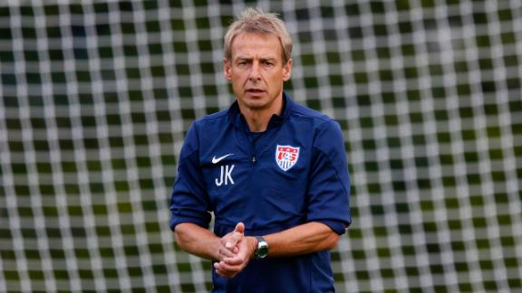 Klinsmann says change flights