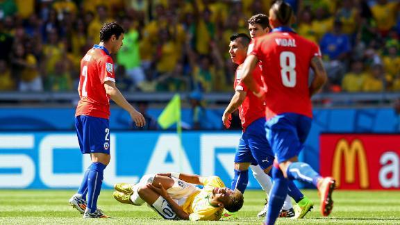 Neymar injury concern