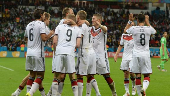 Does Germany have defensive frailties?