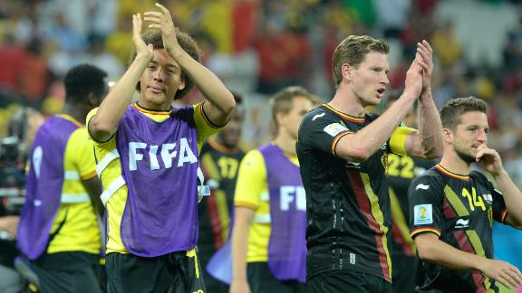 Belgium's World Cup at stake