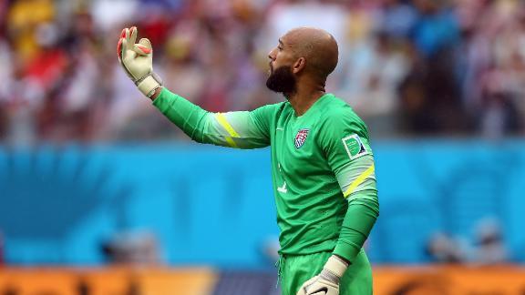 Tim Howard key to USMNT success