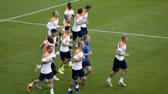 Dutch flying high ahead of quarter-finals