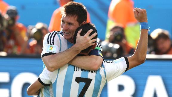 Argentina, Belgium moving on to quarters