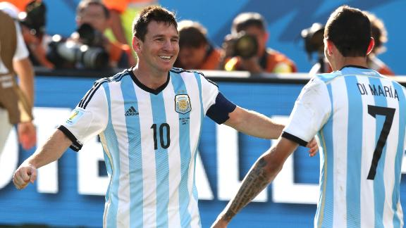 Argentina continue late-game heroics