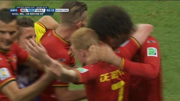 De Bruyne strikes in extra time