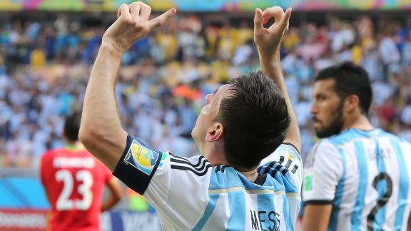 Lionel Messi continues his hot streak