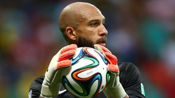 Player of the day: Tim Howard