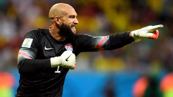 WATCH: Howard with a beautiful kick save