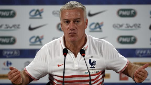 Deschamps prepares squad for Germany