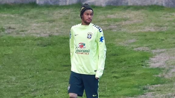 Brazil prepare for Colombia