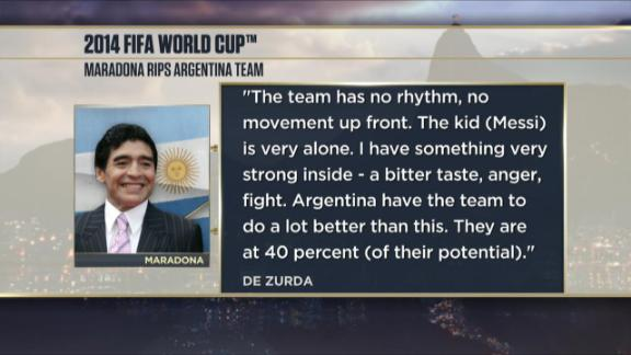 Will Argentina hit their stride against Belgium?