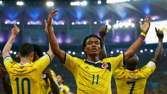 Colombia's big test: Brazil