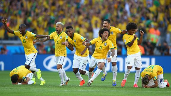 Can Brazil advance to the semifinals?
