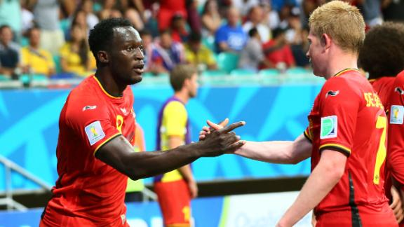 Belgium's young stars shining on big stage