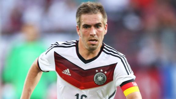 Should Lahm play in defence against France?