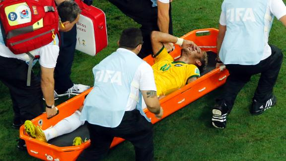 Neymar out of World Cup
