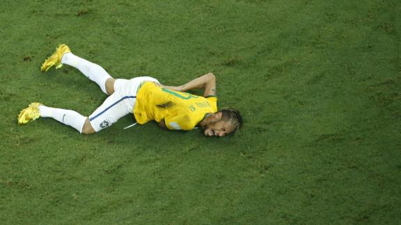 Fractured vertebra cuts Neymar's World Cup short