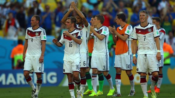 Germans favourites against Brazil?