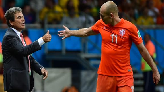 Pinto: Robben is a brilliant player