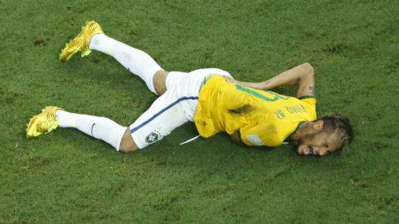 Perfect storm causes Neymar's injury