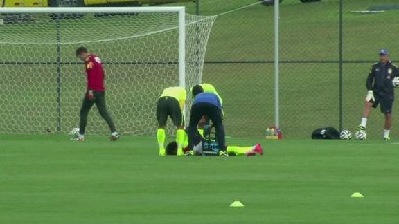 New injury scare for Brazil