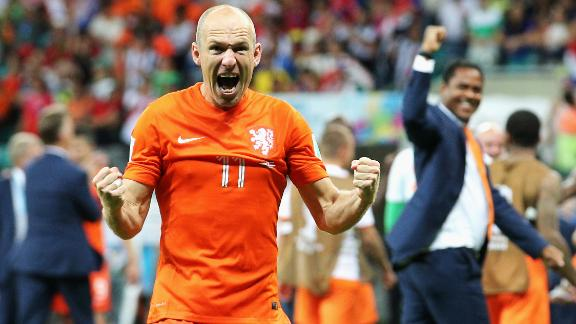 Robben: We'll give everything to go to the final