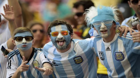 World Cup fans: Argentina