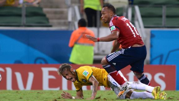 Was tackle on Neymar cowardly?