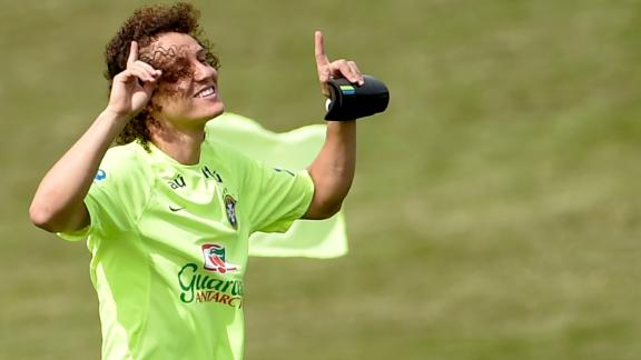 Luiz named Brazil's captain against Germany