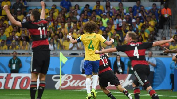 Germany trounce battered Brazil