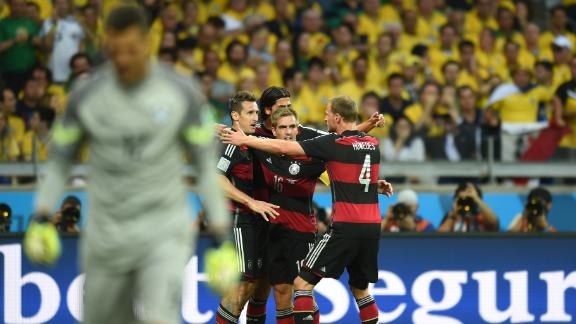 Highlights: Brazil 1-7 Germany