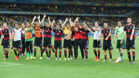 World Cup roundup: Germany make history