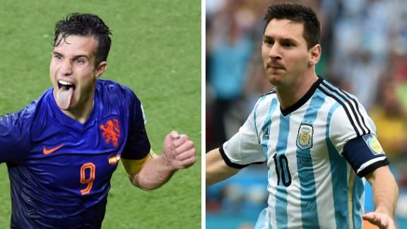 Key matchups for Argentina, Netherlands