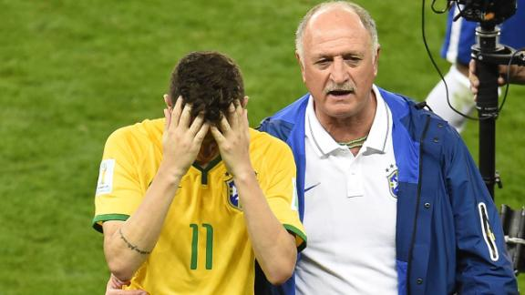 Scolari: I am responsible for this
