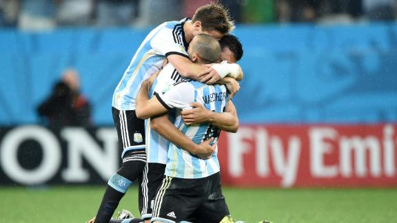Argentina's World Cup semifinal grades