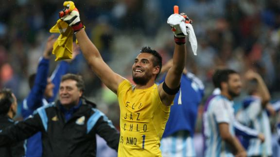 Romero thanks Sabella and van Gaal
